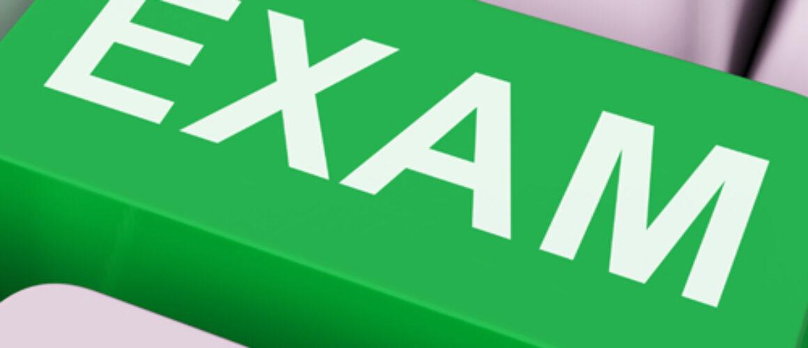Exam Key Shows Examination Exams Or Web Test
