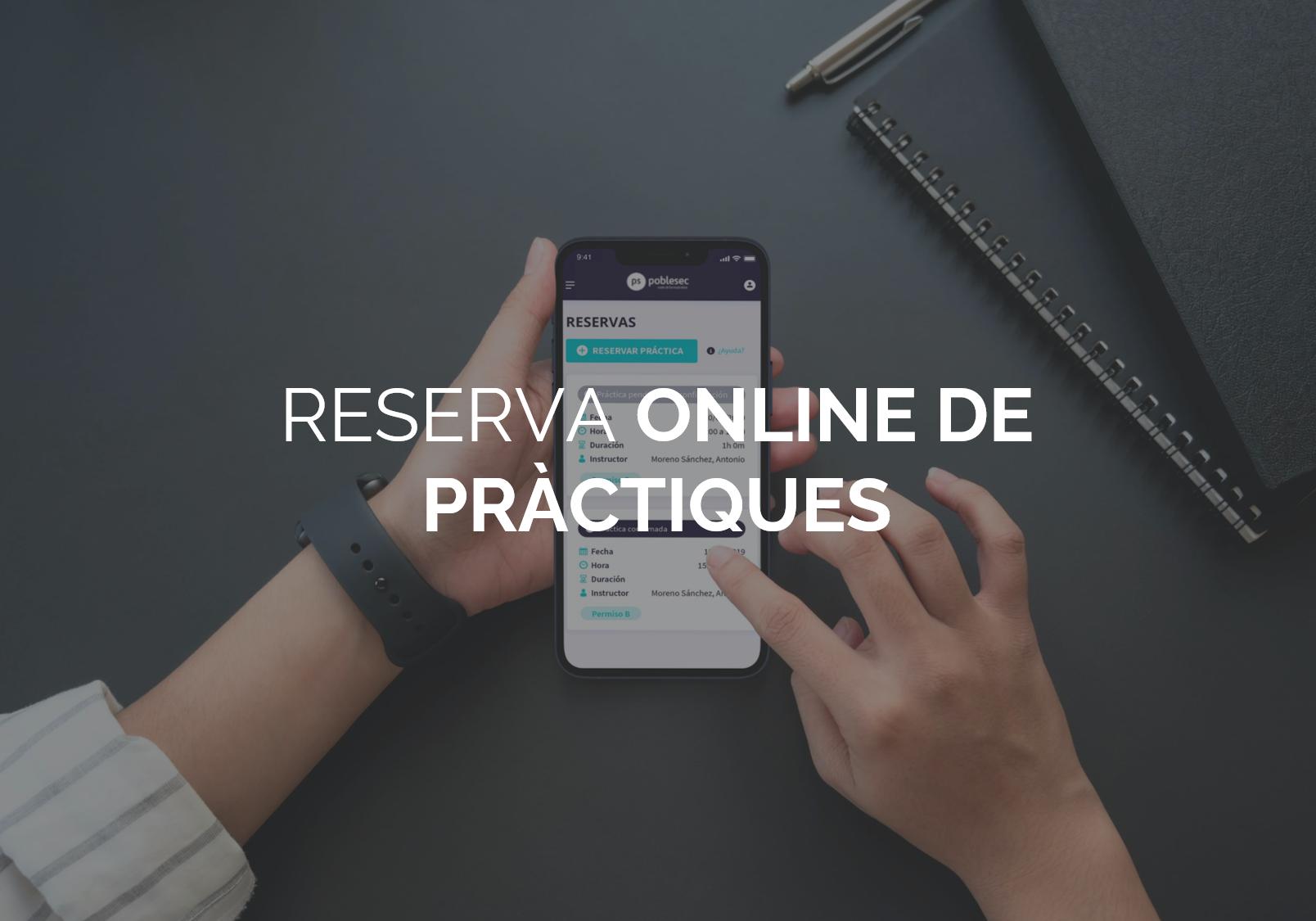 Reserva Online Practiques